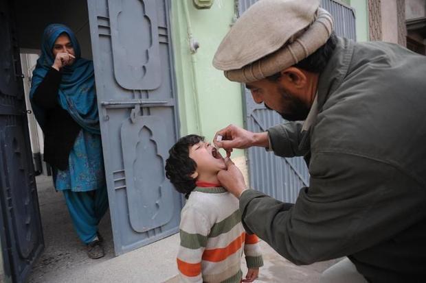 Пакистан вакцинирует 750 тысяч детей на северо-западе страны