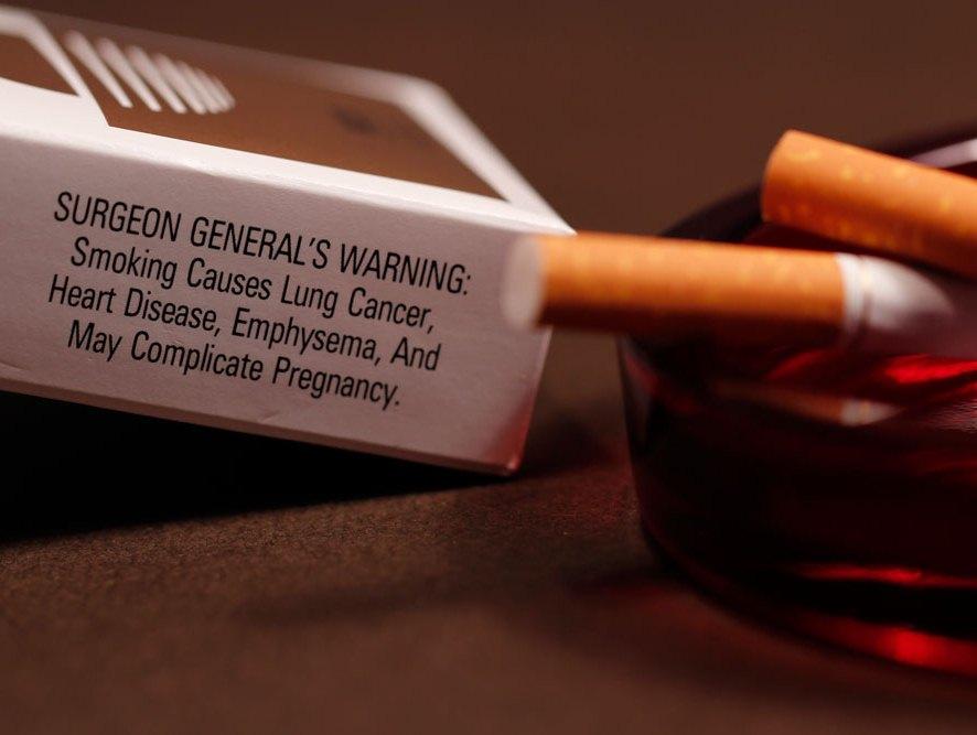 Курение может вызвать физические изменения