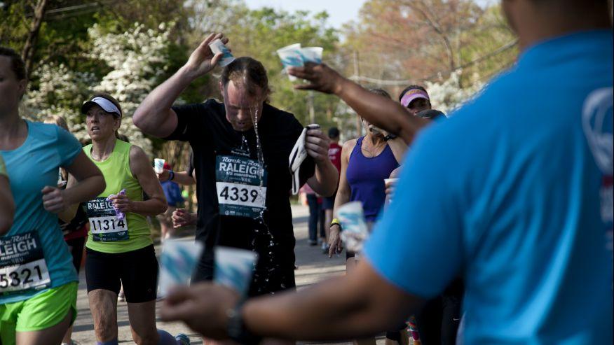 В Северной Каролине на финише умерли 2 марафонца