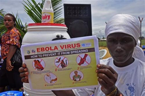 В лечебных центрах Эболы в Западной Африке нахватает мест